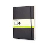 モレスキン クラシックノートブック ソフトカバー 無地 XL 404919 ブラック│ノート・メモ 大学ノート・綴じノート