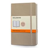 モレスキン カラーノートブック ソフトカバー 横罫 ポケットサイズ カーキベージュ 404933