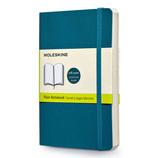 モレスキン カラーノートブック ソフトカバー 無地 ポケットサイズ アンダーウォーターブルー 404957