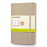モレスキン カラーノートブック ソフトカバー 無地 ポケットサイズ カーキベージュ 404964