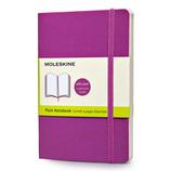 モレスキン カラーノートブック ソフトカバー 無地 ポケットサイズ オーキッドパープル 404971