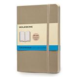 モレスキン カラーノートブック ソフトカバー ドット方眼 ポケットサイズ カーキベージュ 404995