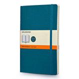 モレスキン カラーノートブック ソフトカバー 横罫 ラージ アンダーウォーターブルー 405015
