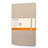 モレスキン カラーノートブック ソフトカバー 横罫 ラージ カーキベージュ 405022