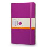 モレスキン カラーノートブック ソフトカバー 横罫 ラージ オーキッドパープル 405039