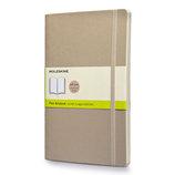 モレスキン カラーノートブック ソフトカバー 無地 ラージ カーキベージュ 405053