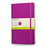 モレスキン カラーノートブック ソフトカバー 無地 ラージ オーキッドパープル 405060