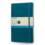 モレスキン カラーノートブック ソフトカバー ドット方眼 ラージ アンダーウォーターブルー 405077