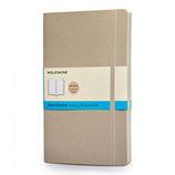 モレスキン カラーノートブック ソフトカバー ドット方眼 ラージ カーキベージュ 405084