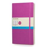 モレスキン カラーノートブック ソフトカバー ドット方眼 ラージ オーキッドパープル 405091