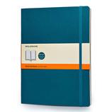 モレスキン カラーノートブック ソフトカバー 横罫 XL アンダーウォーターブルー 405107