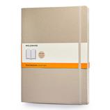 モレスキン カラーノートブック ソフトカバー 横罫 XL カーキベージュ 405114