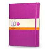 モレスキン カラーノートブック ソフトカバー 横罫 XL オーキッドパープル 405121
