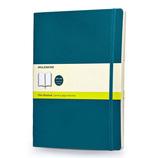 モレスキン カラーノートブック ソフトカバー 無地 XL アンダーウォーターブルー 405138
