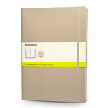 モレスキン カラーノートブック ソフトカバー 無地 XL カーキベージュ 405145