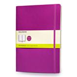 モレスキン カラーノートブック ソフトカバー 無地 XL オーキッドパープル 405152