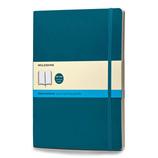 モレスキン カラーノートブック ソフトカバー ドット方眼 XL アンダーウォーターブルー 405169