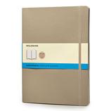 モレスキン カラーノートブック ソフトカバー ドット方眼 XL カーキベージュ 405176
