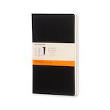 モレスキン ヴォラン ジャーナル 横罫 ソフトカバー ラージサイズ 405732 ブラック│ノート・メモ 大学ノート・綴じノート