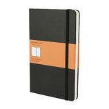 モレスキン クラシックノートブック ハードカバー 横罫 ラージサイズ ブラック 408863