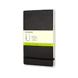 モレスキン リポーターノートブック ソフトカバー 無地 ラージサイズ 408993 ブラック