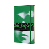 モレスキン 限定版 ノートブック ボブ・ディラン ハードカバー 横罫 ラージサイズ グリーン