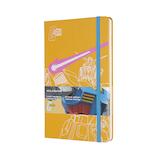 モレスキン 限定版 機動戦士ガンダム ノートブック 横罫 イエロー