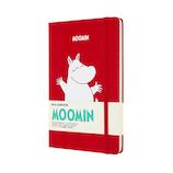 モレスキン 限定版 ノートブック ムーミン ハードカバー ラージサイズ レッド