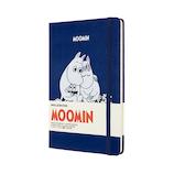 モレスキン 限定版 ノートブック ムーミン ハードカバー ラージサイズ ブルー