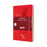 モレスキン 限定版 ノートブック ハリー・ポッター ハードカバー ラージサイズ ゼラニウムレッド│ノート・メモ 大学ノート・綴じノート