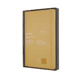 モレスキン 限定版 クラシック レザーノートブック ハードカバー ラージサイズ イエロー