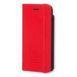 【iPhone7】 モレスキン クラシック ブックタイプケース スカーレットレッド