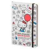 モレスキン 限定版 HELLO KITTY ノートブック ハードカバー 横罫 Large コンテンポラリー