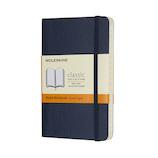 モレスキン クラシックノートブック ソフトカバー 横罫 ポケットサイズ ブルー