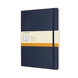モレスキン クラシックノートブック ソフトカバー 横罫 XL ブルー│ノート・メモ 大学ノート・綴じノート
