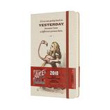 【2018年1月始まり】モレスキン 限定版 デイリー 不思議の国のアリス YESTERDAY ハードカバー ラージ