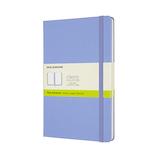 モレスキン カラー ノートブック ハードカバー 無地 Lサイズ QP062B42 ハイドレイジブルー│ノート・メモ