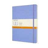 モレスキン カラー ノートブック ハードカバー 横罫 XLサイズ QP090B42 ハイドレイジブルー│ノート・メモ