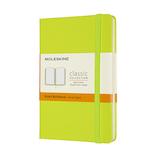 モレスキン カラー ノートブック ハードカバー 横罫 ポケットサイズ MM710C2 レモングリーン│ノート・メモ