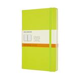 モレスキン カラー ノートブック ハードカバー 横罫 Lサイズ QP060C2 レモングリーン
