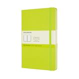 モレスキン カラー ノートブック ハードカバー 無地 Lサイズ QP062C2 レモングリーン│ノート・メモ