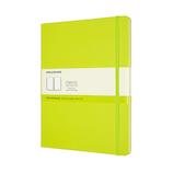 モレスキン カラー ノートブック ハードカバー 無地 XLサイズ QP092C2 レモングリーン