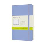 モレスキン カラー ノートブック ソフトカバー 無地 ポケットサイズ QP613B42 ハイドレイジブルー│ノート・メモ