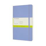 モレスキン カラー ノートブック ソフトカバー 無地 Lサイズ QP618B42 ハイドレイジブルー