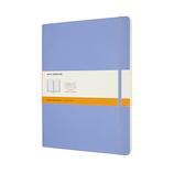 モレスキン カラー ノートブック ソフトカバー 横罫 XLサイズ QP621B42 ハイドレイジブルー│ノート・メモ