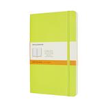 モレスキン カラー ノートブック ソフトカバー 横罫 Lサイズ QP616C2 レモングリーン