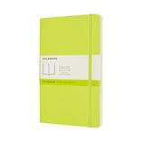 モレスキン カラー ノートブック ソフトカバー 無地 Lサイズ QP618C2 レモングリーン│ノート・メモ