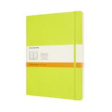 モレスキン カラー ノートブック ソフトカバー 横罫 XLサイズ QP621C2 レモングリーン│ノート・メモ