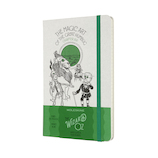 モレスキン 限定版 オズの魔法使い ノートブック 横罫 グリーン LEWOZQP060MA