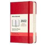【2022年1月始まり】 モレスキン(MOLESKINE) レッド ハード ポケット デイリー DHF212DC2Y22 レッド 月曜始まり│手帳・ダイアリー ダイアリー